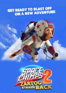 Мартышки в космосе: Ответный удар 3D (2010) Space Chimps 2: Zartog Strikes Back